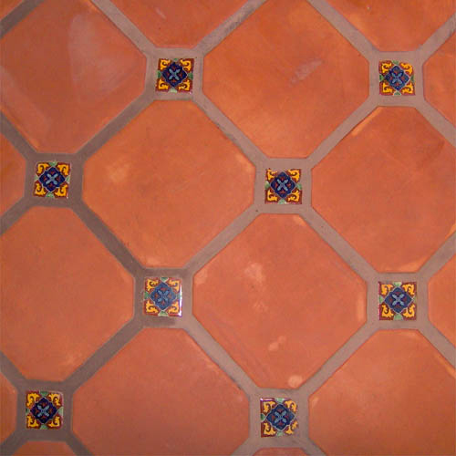 how to clean mexican flor tile