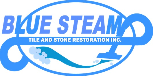 blue steam tile and carpet cleaning